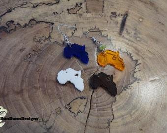 Small Africa Earrings