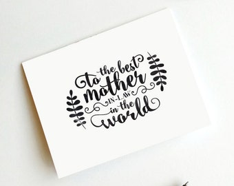 Mother in-law card,Happy Mothers day,Printable Mom card,Best Mother in law,mother in-law,in the world,Digital,Instant download