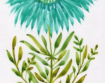 Agrippina, Original Floral Painting