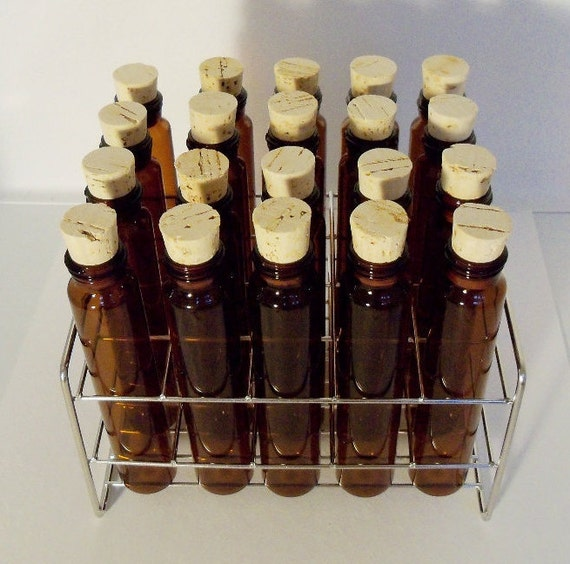 Test tube spice rack stainless steel kitchen craft chef for Glass test tubes for crafts