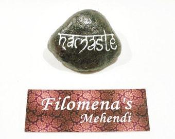Word stone, Meditation stones, Altar words, Positive word stones, Word stones, Gratitude stone, Meditation art, Zen decor, Inspirational art