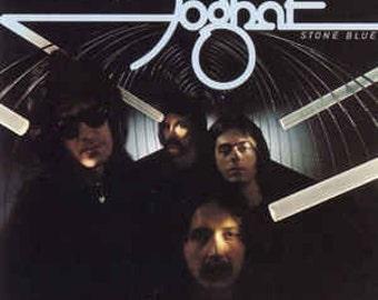 Foghat - Stone Blue Vinyl Record (1978)