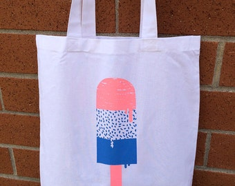 Ice Cream 4 Tote Bag (two colors)