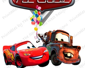 Items similar to Disney Pixar Cars Scrapbook Layout 1 Page 12