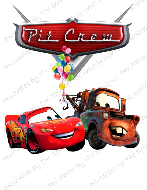 Pit Crew IMAGE Use as Clip art or Printable Iron On Lightning ...