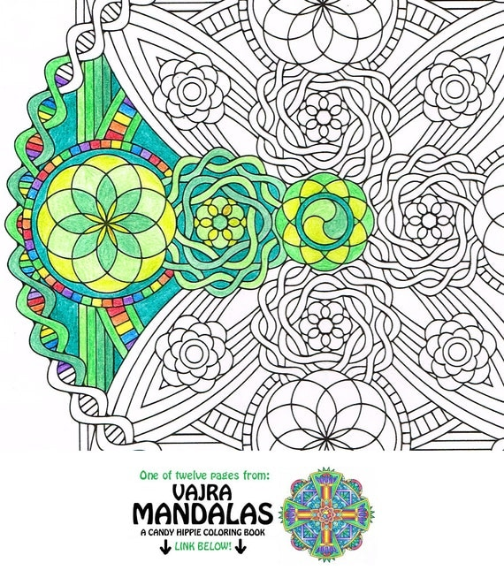 sacred mandala coloring pages - photo#20