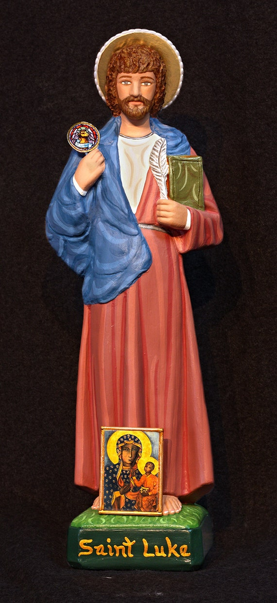 "St. Luke 18"" Patron Saint of Artists and Physicians"