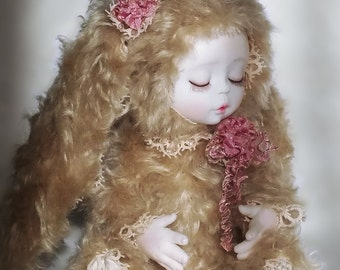 OOAK Teddy Doll art doll teddy bear artist bear