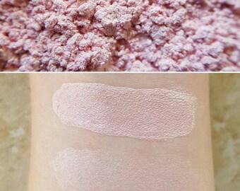 Lightning - Light Pink, Mineral Eyeshadow, Mineral Makeup, Vegan