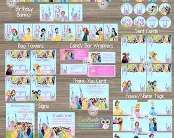 Disney Princess Party Decorations, Princess Birthday Decorations, Disney Princess Party, Princess, Disney Princess Birthday