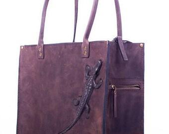 Leather handbag. Leather Bag. Leather shoulder bag, Handmade.Ladies. Women's. Leather purse. Shoulder bag.