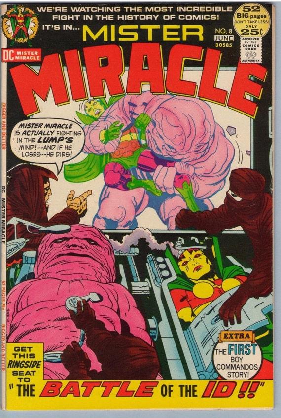 Mr. Miracle 8 Jun 1972 VF+ (8.5)