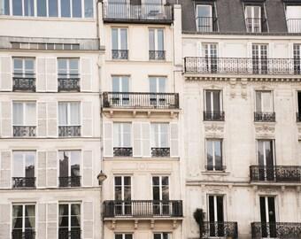 """Paris Photography, Color Photography, Black and White, Paris Architecture, Paris Photo, Paris Shutters, Paris Balconies, """"Paris Facades"""""""