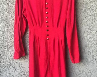 CLEARANCE Red Dawn Joy Fashions midi dress