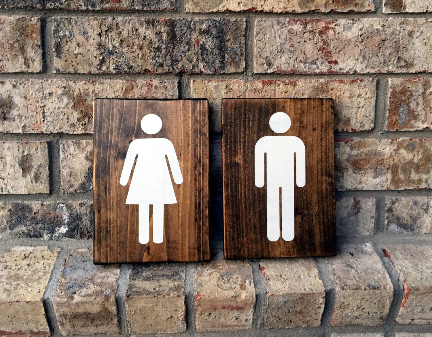 Bathroom Signs Rustic Bathroom Decor Bathroom Wall Decor