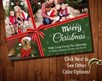CHRISTMAS CARD - Multiple Photos - Digital File