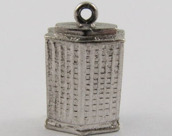 Hotel Sterling Silver Vintage Charm For Bracelet