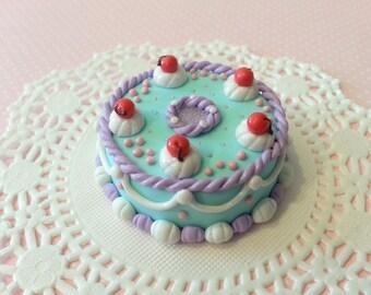 SALE* Pastel Mint Miniature Cake