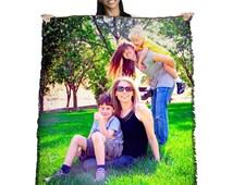 HD Woven Photo Blanket