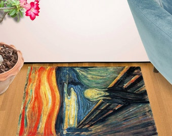 The Scream by Edvard Munch Doormat (24 x 36)