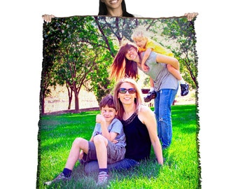 HD Woven Photo Blanket