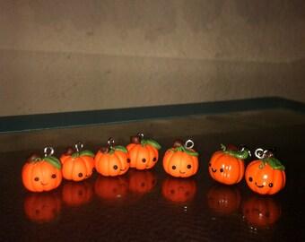 Kawaii Pumpkin Charm
