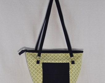 Lime & Navy Bag