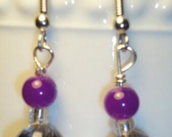 Purple & iridescent