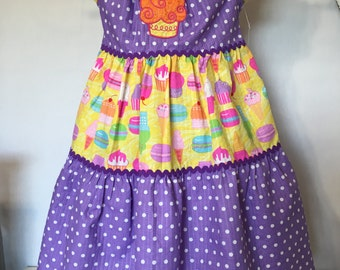 Little girls birthday dress