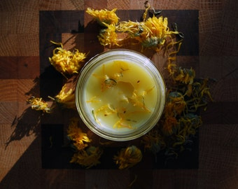 Calendula & Chamomile Salve (Varied sizes)