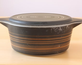 Vintage Terra Pyrex 475-B2 Casserole ovendish