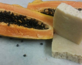 Organixx LLC/ Handmade Soap/ Papaya & Aloe