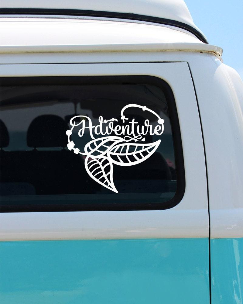 Vinyl Car Window : Adventure bohemian vinyl decal sticker car window