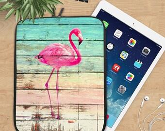 Pink Flamingo Ipad Sleeve, Key West Neoprene Tablet Sleeve, Distressed Wood Ipad Sleeve, Ipad 2/3/4, Ipad Air Sleeve, Tablet Travel Case