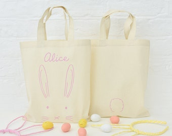 Easter egg hunt bag etsy personalised easter egg hunt bag easter bag easter hunt bag easter gift negle Image collections