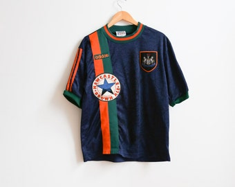 Adidas New Castle soccer t-shirt size M