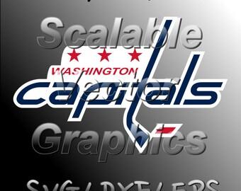 Washington Capitals - Vector Cut File - SVG / DXF / EPS