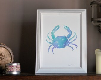 A4 Crab Print (Signed by the Artist)