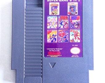 Mega Man 1-6 and Castlevania 1-2 (NES)