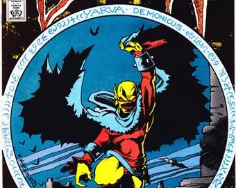 The Demon 1 2 3 4, comic book lot. Full Run, DC Comics,  Etrigan, Monster, Horror, Halloween art. 1987 Vintage DC Comics in NM (9.4)