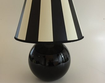 JACQUES ADNET attributed table lamp. 1930s. French decor, home decor, art deco, Bauhaus