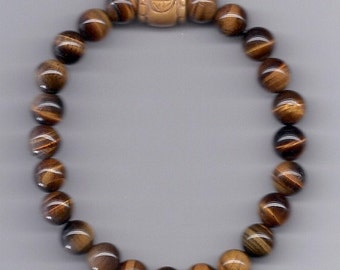Lucky Karma Bead Bracelet Courage