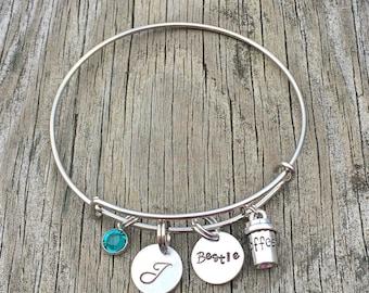 Best friend bracelet - best friend - But first Coffee - Friendship bracelet - Bff bracelet - Best friend gift - Best friend jewelry