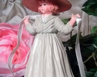 """MAUDE HUMPHRY BOGART collectible limited edition figurine """"Autumn Days"""" by Hamilton Gifts – H1348  #14,391/24,000"""