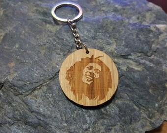 Bob Marley Key Chain