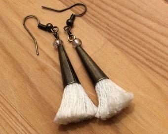 Boho Inspired Tassel Earrings