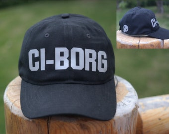 Cochlear Implant CI-BORG hat