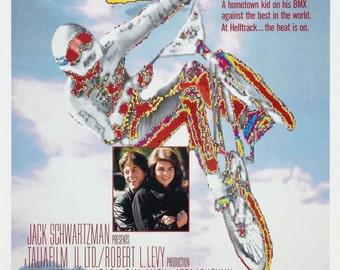 RAD! Movie Poster 1987 BMX 80's Motorcross