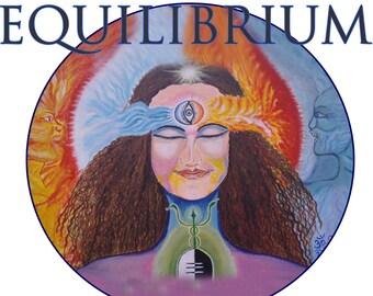 Divine Equilibrium- poster