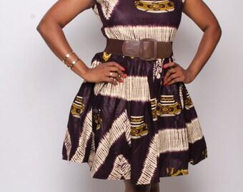 Rati Round Collar dress